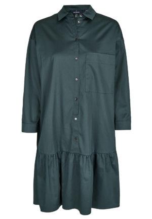 Daniel Hechter 14340 711015 590 sieviešu kleita tumši zaļā krāsā