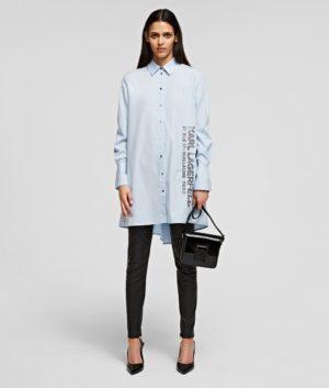 Karl Lagerfeld 211W1602 sieviešu krekls zils