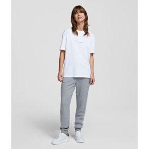 Karl Lagerfeld 211W1780 sieviešu T-krekls balts