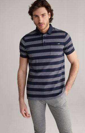 Joop! 30024665 405 vīriešu polo T-krekls tumši zils