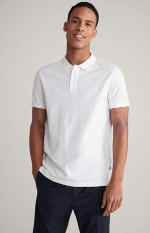 Joop! 30025786 100 vīriešu polo T-krekls balts