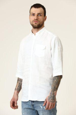 Karl Lagerfeld 605517 511667 10 vīriešu krekls balts