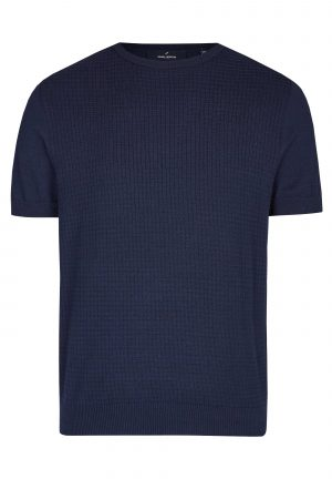 Daniel Hechter 65002 111811 680 vīriešu T-krekls tumši zils