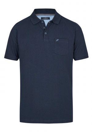 Daniel Hechter 74002 111910 680 vīriešu polo T-krekls tumši zils
