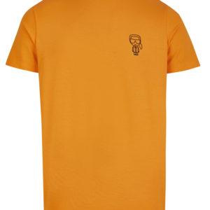 Karl Lagerfeld 755024 511221 170 vīriešu T-krekls oranžs