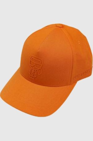 Karl Lagerfeld 805617 511123 170 vīriešu cepure oranžā krāsā