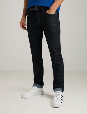 Baldessarini B1 16502.1212 6810 vīriešu džinsu bikses tumši zilas