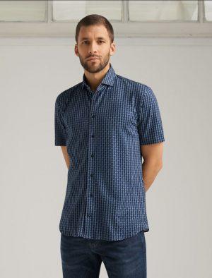 Baldessarini B3 31000.3508 6000 vīriešu krekls zils