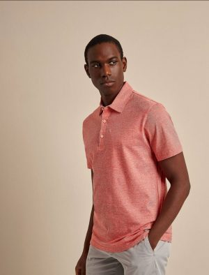 Baldessarini B4 10008.5044 3203 vīriešu polo T-krekls sarkans