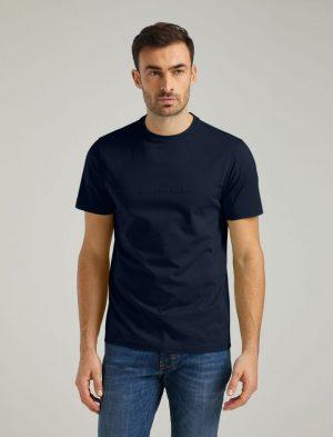 Baldessarini B4 20009.5015 6300 vīriešu T-krekls tumši zils