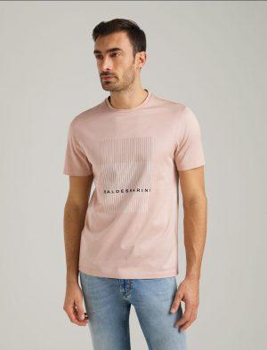 Baldessarini B4 20010.5015 4011 vīriešu T-krekls rozā