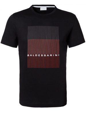 Baldessarini B4 20010.5015 9000 vīriešu T-krekls melns