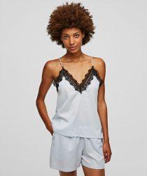 Karl Lagerfeld 211W2130 sieviešu pidžama balta