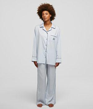 Karl Lagerfeld 211W2131 sieviešu pidžama balta