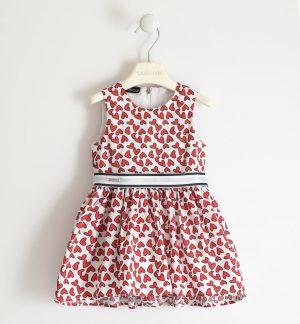 Saraband 2067 6PF1 meiteņu kleita sarkana