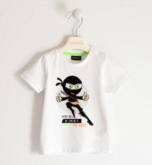Sarabanda 2117 0113 zēnu t-krekls balts
