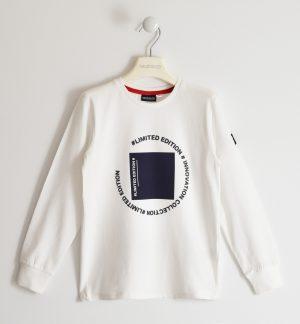Sarabanda 2332 0113 zēnu džemperis balts