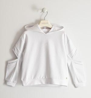 Sarabanda 2410 0113 meiteņu džemperis balts
