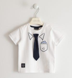 Sarabanda 2513 0113 zēnu t-krekls balts