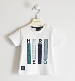 Sarabanda 2518 0113 zēnu t-krekls balts