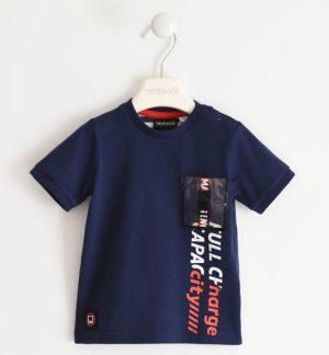 Sarabanda 2527 3854 zēnu t-krekls zils