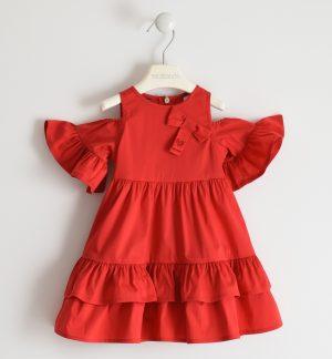 Sarabanda 2576 2256 meiteņu kleita sarkana