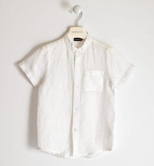 Sarabanda 2621 0113 zēnu krekls balts