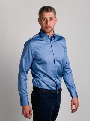 Fakts 1000-251 vīriešu krekls zilā krāsā
