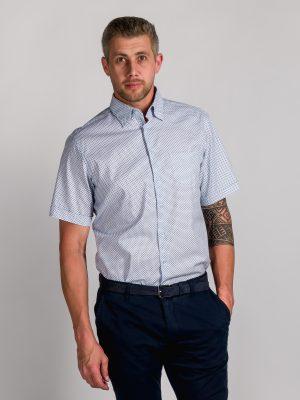 Fakts 1031-214 vīriešu krekls zilā krāsā