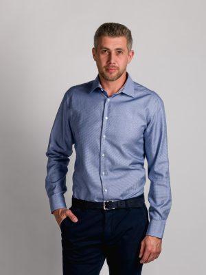 Fakts 1039-252 vīriešu krekls zilā krāsā