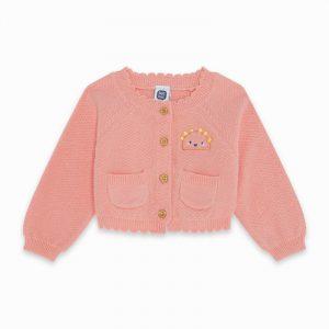 Tuc Tuc 11300011 smnalka adījuma meiteņu jaka rozā
