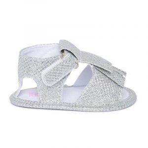Tuc Tuc 11300079 meiteņu kurpes ar gliteriem pelēkas