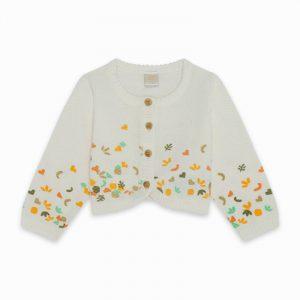 Tuc Tuc 11300086 meiteņu jaka baltā krāsā