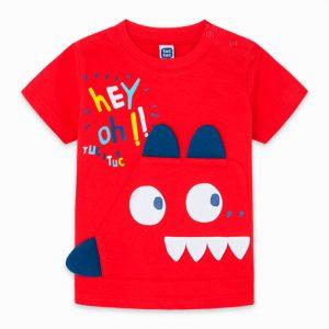 Tuc Tuc 11300132 zēnu T-krekls sarkans