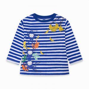 Tuc Tuc 11300202 zēnu T-krekls ar garām piedurknēm zils