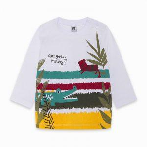 Tuc Tuc 11300294 zēnu T-krekls balts