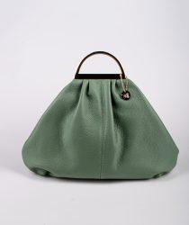 Laura Di Maggio 309 Menta sieviešu ādas soma zaļā krāsā