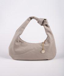Laura Di Maggio 335 Perla sieviešu ādas soma bēšā krāsā