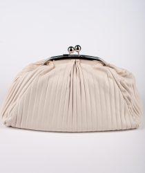 Laura Di Maggio 514 Crema sieviešu ādas soma bēšā krāsā