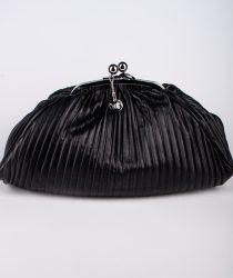 Laura Di Maggio 514 Nero sieviešu ādas soma melnā krāsā