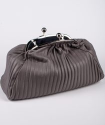 Laura Di Maggio 514 Taupe sieviešu soma tumši pelēkā krāsā
