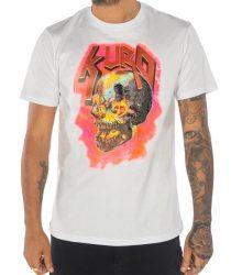 Takeshy Kurosawa 82781BIANCO vīriešu T-krekls baltā krāsā