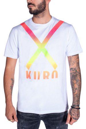 Takeshy Kurosawa 82791BIANCO vīriešu T-krekls baltā krāsā