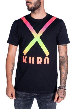 Takeshy Kurosawa 82791NERO vīriešu T-krekls melnā krāsā