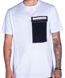 Takeshy Kurosawa 82808BIANCO vīriešu T-krekls baltā krāsā