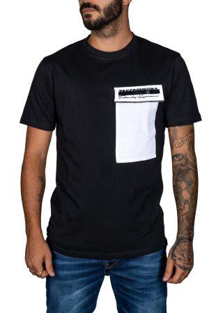 Takeshy Kurosawa 82808NERO vīriešu T-krekls melnā krāsā