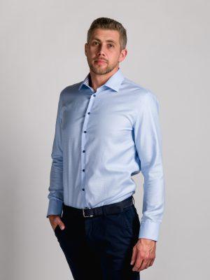 Fakts 9004-212 vīriešu krekls gaiši zilā krāsā