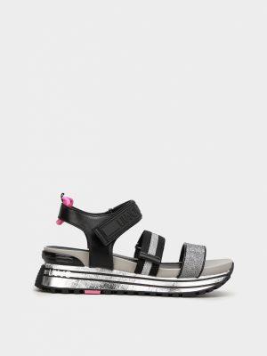 Liu Jo BA1073TX11600532 sieviešu sandales melnas