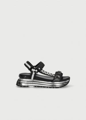 Liu Jo BA1079TX17822222 sieviešu sandales melnas