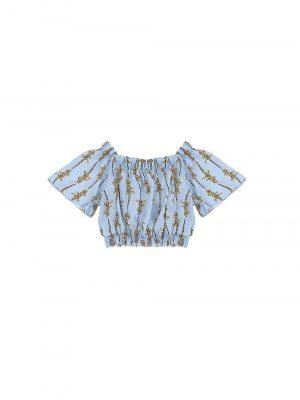 Dixie CC23364G30 1580 meiteņu krekls zils